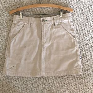 Tommy Jeans Distressed Skirt 14 3/4 Length Size 5